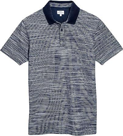 next Hombre Camisa Polo Interest con Textura con Algodón ...