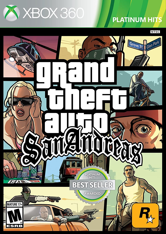 Amazon com: Grand Theft Auto: San Andreas - Xbox 360: Take 2