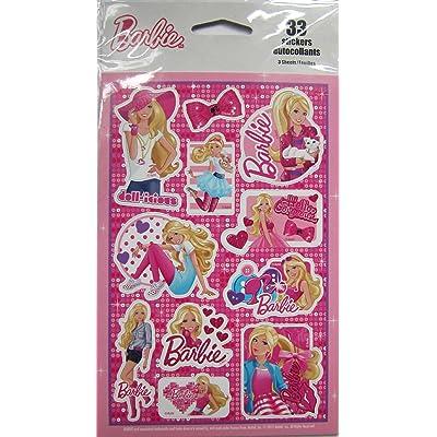 33 Barbie Stickers: Kitchen & Dining