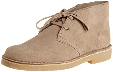 Clarks Desert Ankle Boot (Toddler/Little Kid),Sand Suede,9 M