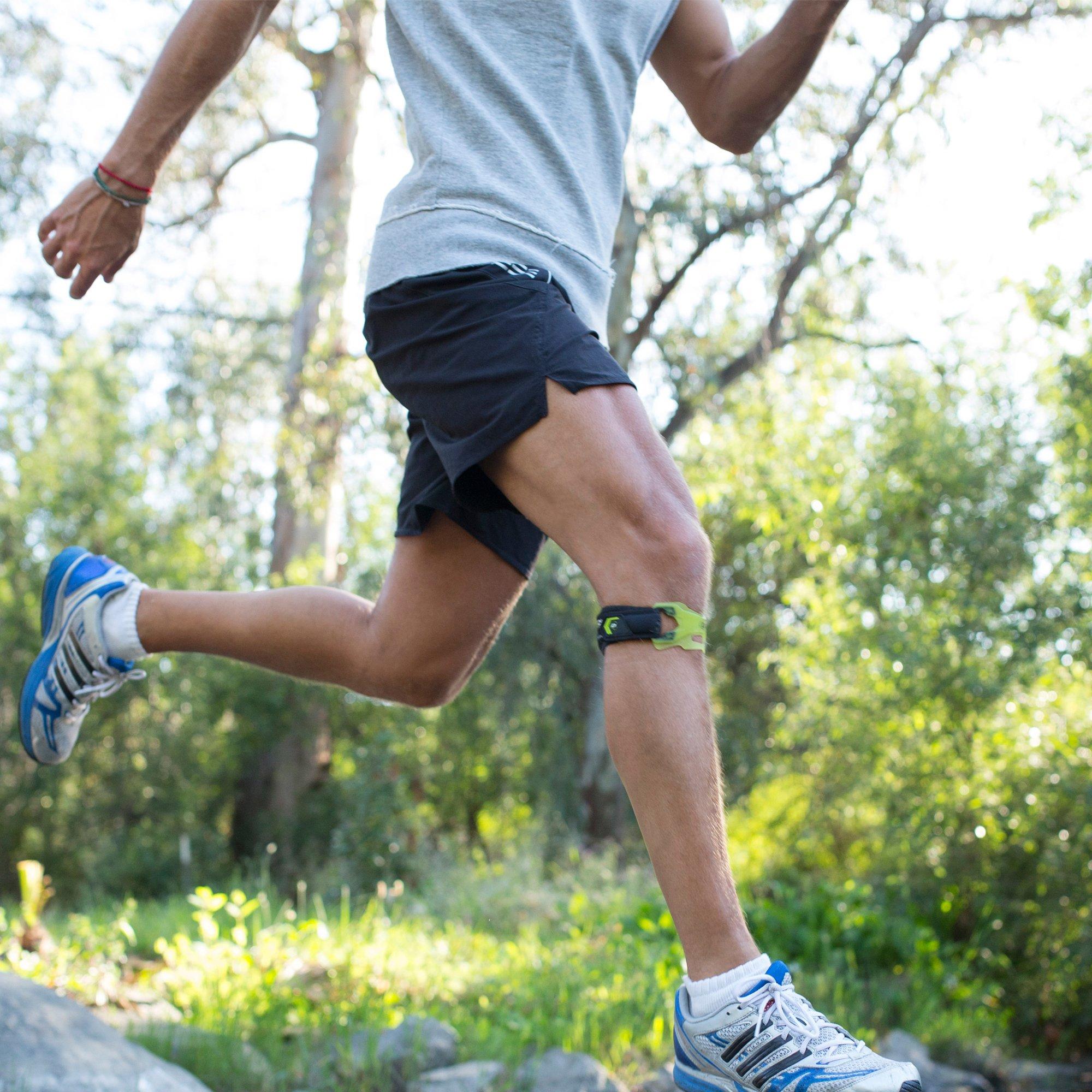 88dc6fad31 DonJoy Performance WEBTECH Knee Support Strap: Black, Small/Medium -  DP151KB03-BLK-S/M < Knee Braces < Health & Household - tibs