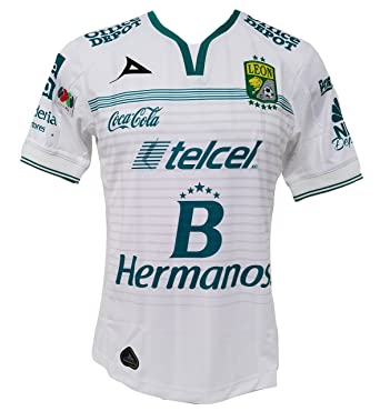 outlet store f244f 614aa Amazon.com: Club Leon Authentic Away Soccer Jersey (Small ...