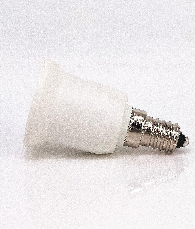 5pcs E14 to E27 E26 Lamp Bulb Base Socket Lamp Holder Converter Adapter for Lamp Converter LED Lamp Socket Adapter yunqi DJ14027