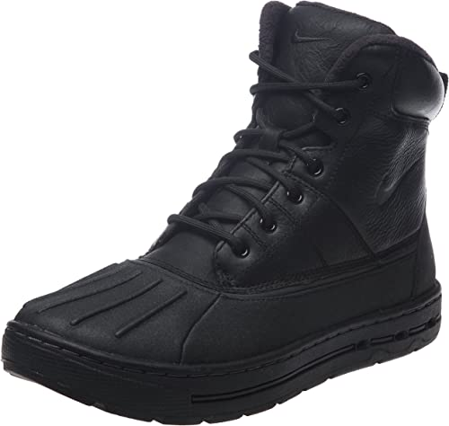 Amazon.com | Nike Woodside ACG Mens Boots [386469-010] Black ...