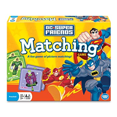 Wonder Forge Super Friends Matching Game: Toys & Games