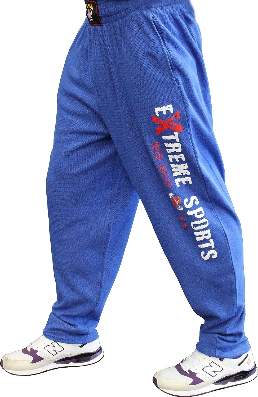 BIG SM EXTREME SPORTSWEAR Herren Bodyhose Jogginghose Sporthose Bodybuilding 1084