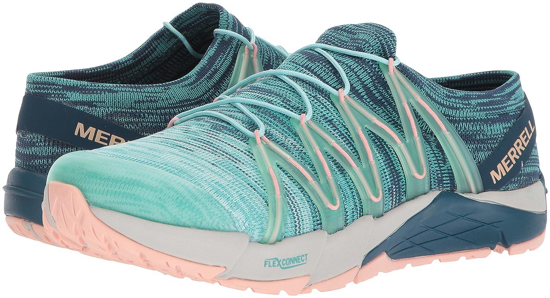 Merrell Women's Bare Access Flex Knit Sneaker B072JX6H9K 7 B(M) US Aqua