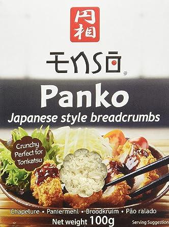 Enso - Panko - Pan Rallado Japonés - 100 g - [Pack de 6]: Amazon.es: Alimentación y bebidas