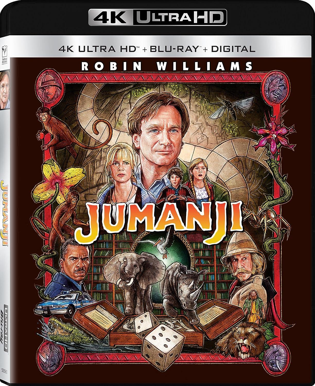 Jumanji [USA] [Blu-ray]: Amazon.es: Jumanji: Cine y Series TV