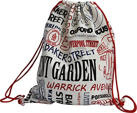 Circus Fun Drawstring Backpack Sports Athletic Gym Cinch Sack String Storage Bags for Hiking Travel Beach