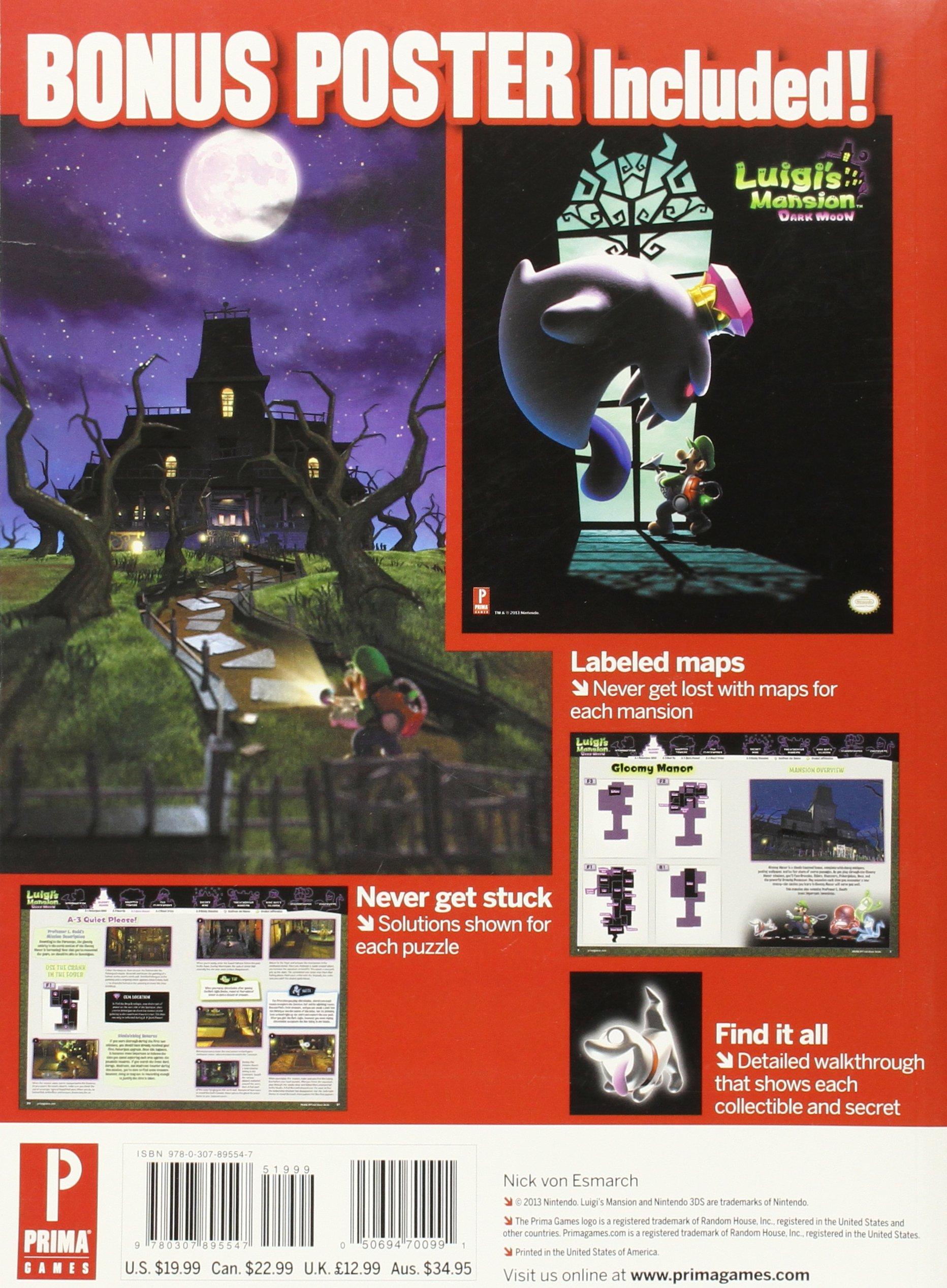luigi s mansion dark moon prima official game guide prima rh amazon com luigi's mansion 2 gem guide luigi's mansion dark moon wiki guide