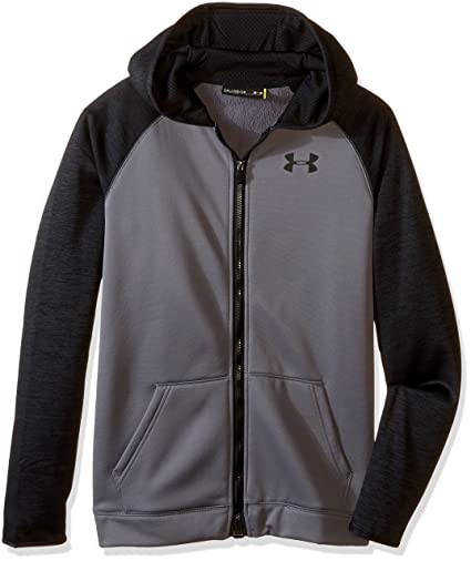 Amazon.com  Under Armour Boys  Storm Armour Fleece Full Zip Hoodie ... 98445ffb8