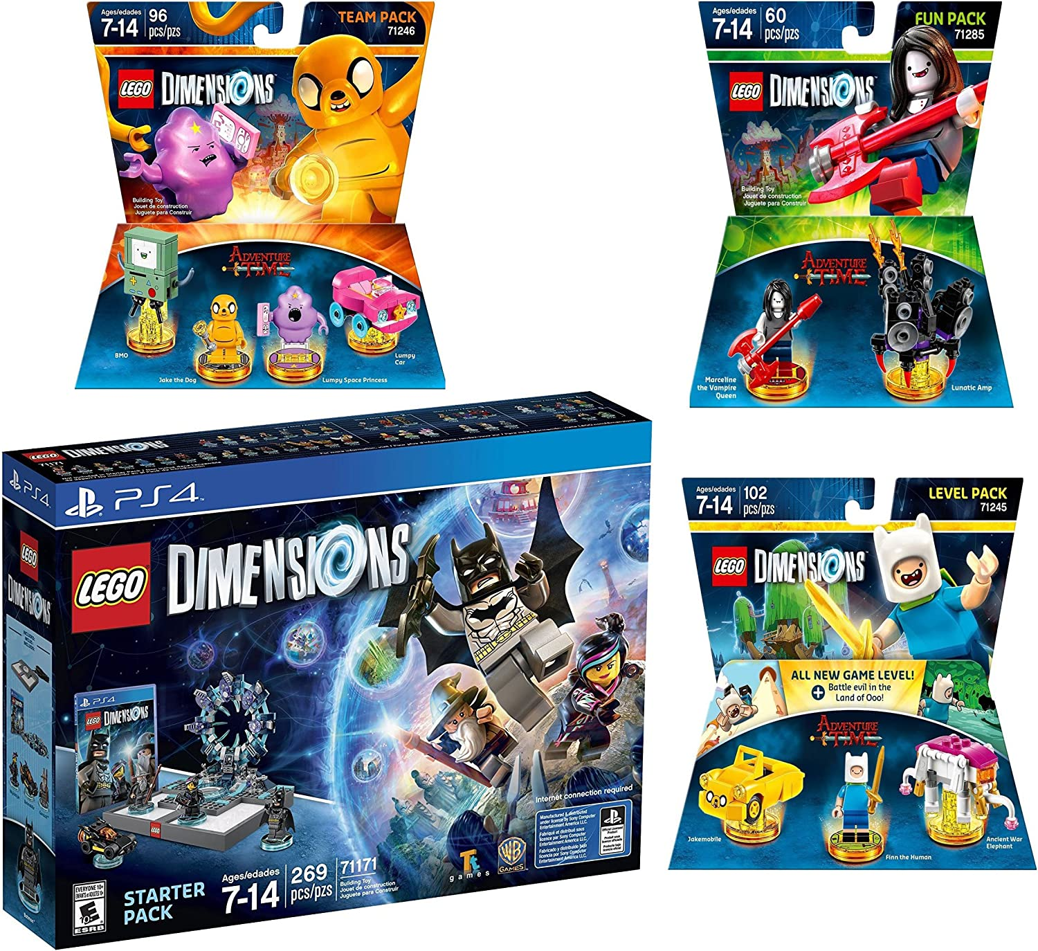 LEGO Dimensions MINIFIGURES ONLY you choose BRAND NEW story level team fun