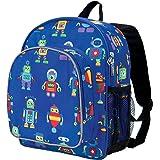 Olive Kids Robots Pack 'n Snack Backpack