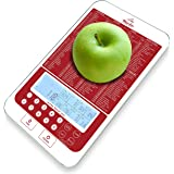 Mackie Food Scale, Digital Kitchen Scale Nutrition Portions Easy Automatic Calorie and Macro Nutrition Calculator an…