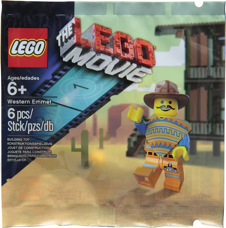 LEGO Western Emmet The Movie Exclusive Figure