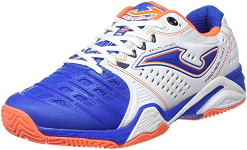 Joma T Pro-Roland 602 Blanco-Royal All Court, Zapatillas de Tenis Hombre: Amazon.es: Zapatos y complementos