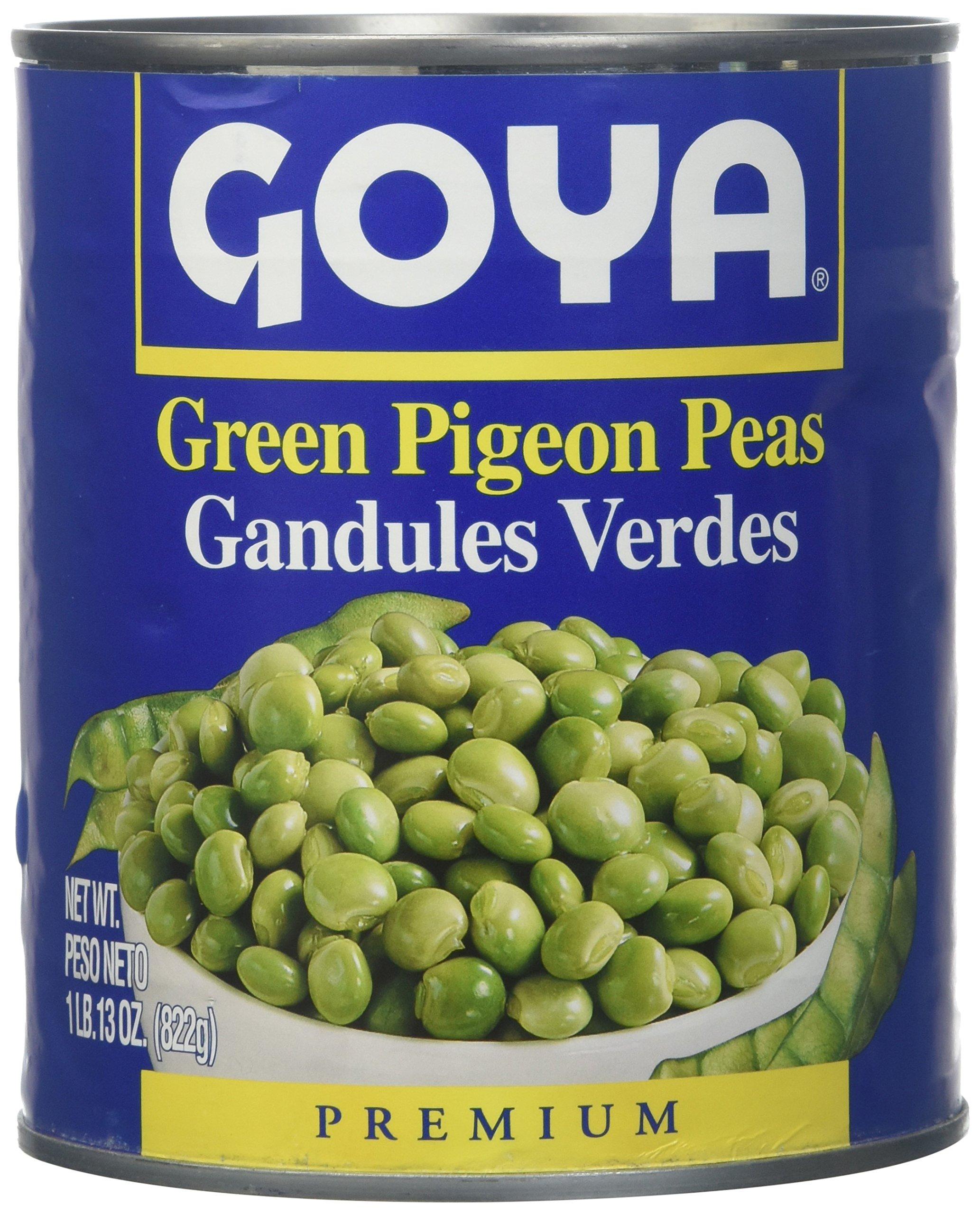 Goya, Green Pigeon Peas, 822 Grams(gm)