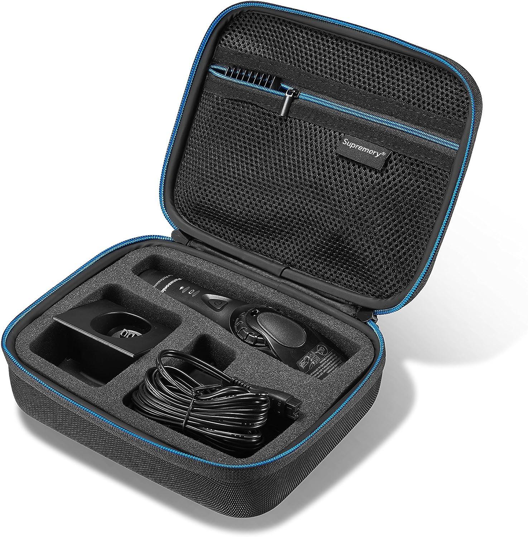 Supremery Funda para Panasonic Maquinilla de Cortar el Pelo ER-GP80 ER-DGP82 Caja Envoltura Protectora Estuche Bolsa de Transporte
