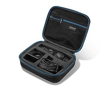 Supremery Funda para Panasonic Maquinilla de Cortar el Pelo ER-GP80 Caja Envoltura Protectora Estuche Bolsa de Transporte: Amazon.es: Electrónica