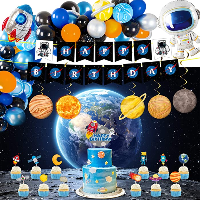 Top 9 Space Birthday Decor