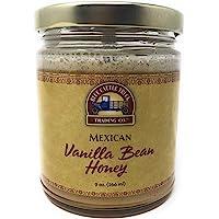 Blue Cattle Trucking Co. Gourmet Mexican Vanilla Bean Honey, 9 Ounce
