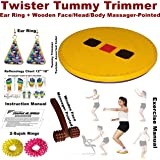 Super India Store Twister Disc & Pyramid Acupressure Power Mat Blood Circulation Magnetic Massager