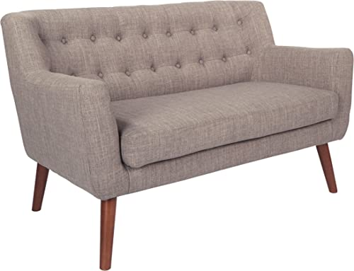 Avenue Six Loveseat, 51 x 29.5 x 31.5 , Cement