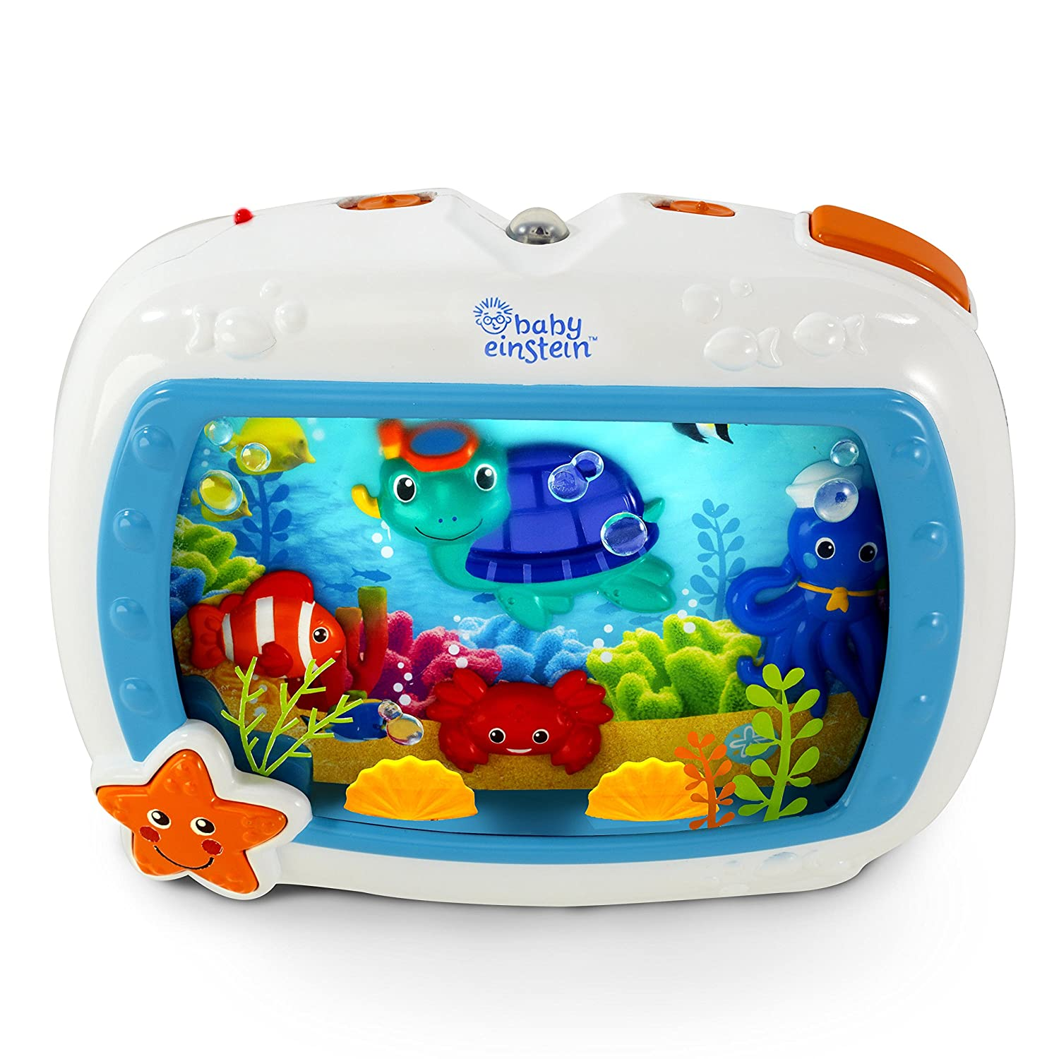 Sea Dreams Soother Cot Toy with Remote, Lights and Melodies, Newborns and up Kids II Europe B.V. 11058