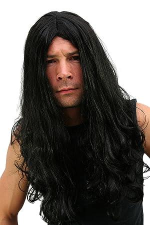 Wig me up, LM-155-P103(A137), Peluca, Black Metal, melena Headbanger, greñas roquero