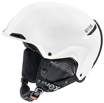Uvex JAKK+ Esquiar Blanco - Cascos de protección para Deportes (Mate)
