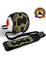 HK Football Ceinture d'Entraînement, Kick Trainer, pour Enfants et Adultes. Elastique Réglable et Ajustable pour Ballons de Taille 3, 4 et 5