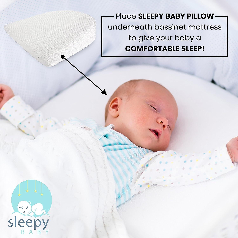 Amazon.com: Universal Moisés de cuña bebé almohada almohada ...