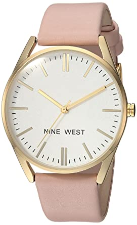 Amazon Com Nine West Women S Nw 1994wtpk Gold Tone And Pastel Pink