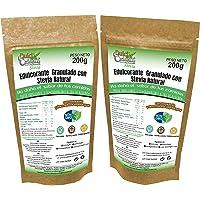 STEVIA Envase Ecologico Natural Edulcorante granulado Dulcilight -stevia Pack 2 doypack 400 gr= 4kg. 1:10 Producto SABOR…