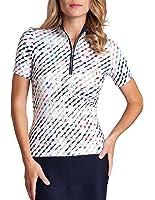 Tail Activewear Women's Christabel Golf Top Mirage Print