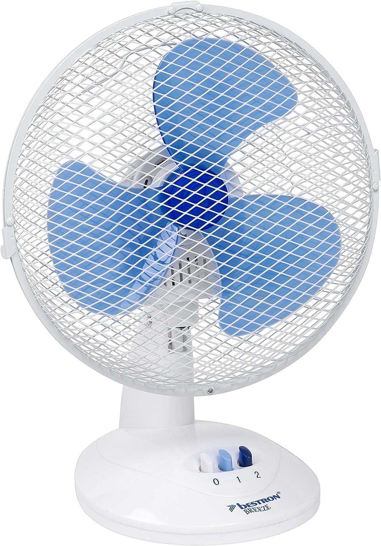 Ventilatore da Tavolo VINCO 70602 Bianco 3 pale 45Watt 3 velocità Diametro 40