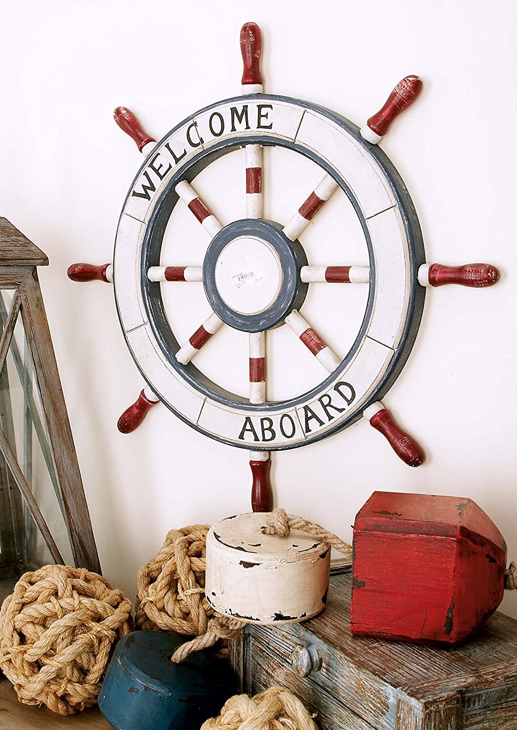 Welcome aboard boat ships life ring clock - Welcome Aboard Boat Ships Life Ring Clock 25
