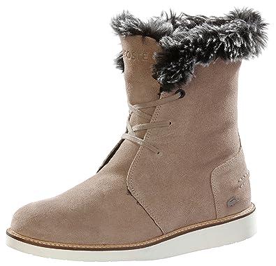 6c510e0777faa Lacoste Women s Baylen 2 Boots Grey HellGrigio  Amazon.co.uk  Shoes ...