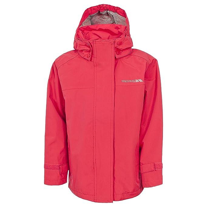 Trespass - Chaqueta / abrigo acolchado impermeable modelo Hemisphere para niñas (9-10 años