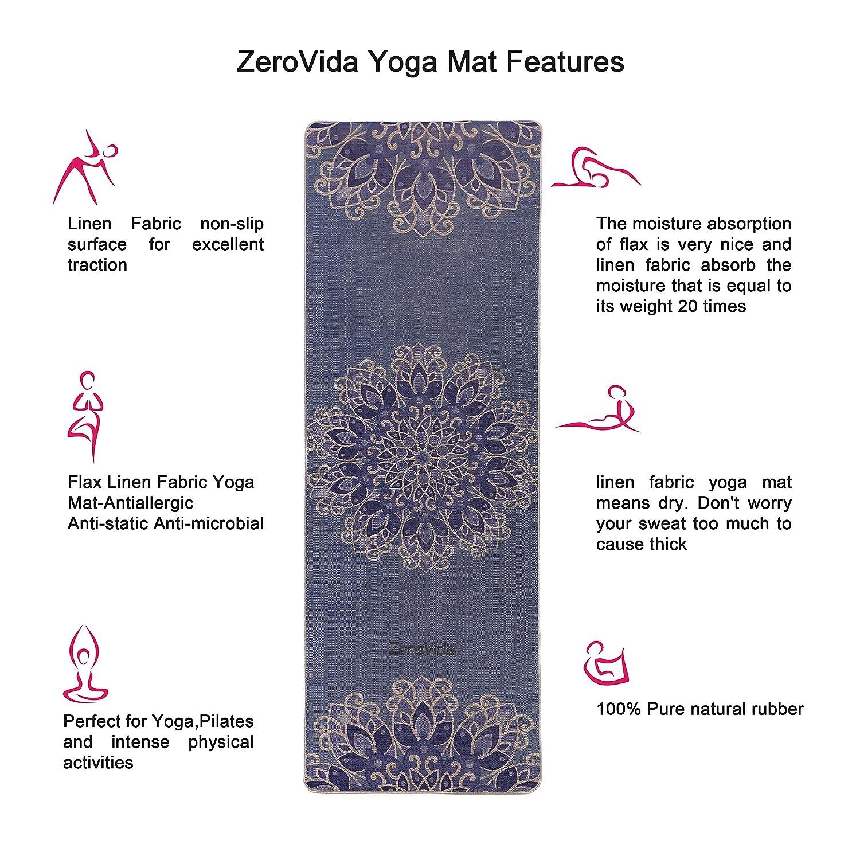 Estera para yoga de Chastep de PVC b81289b5ff96