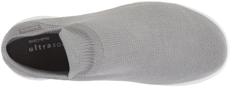 Skechers Women's Go Walk Lite-15372 Wide Sneaker B0721TNSF2 6 W US Gray