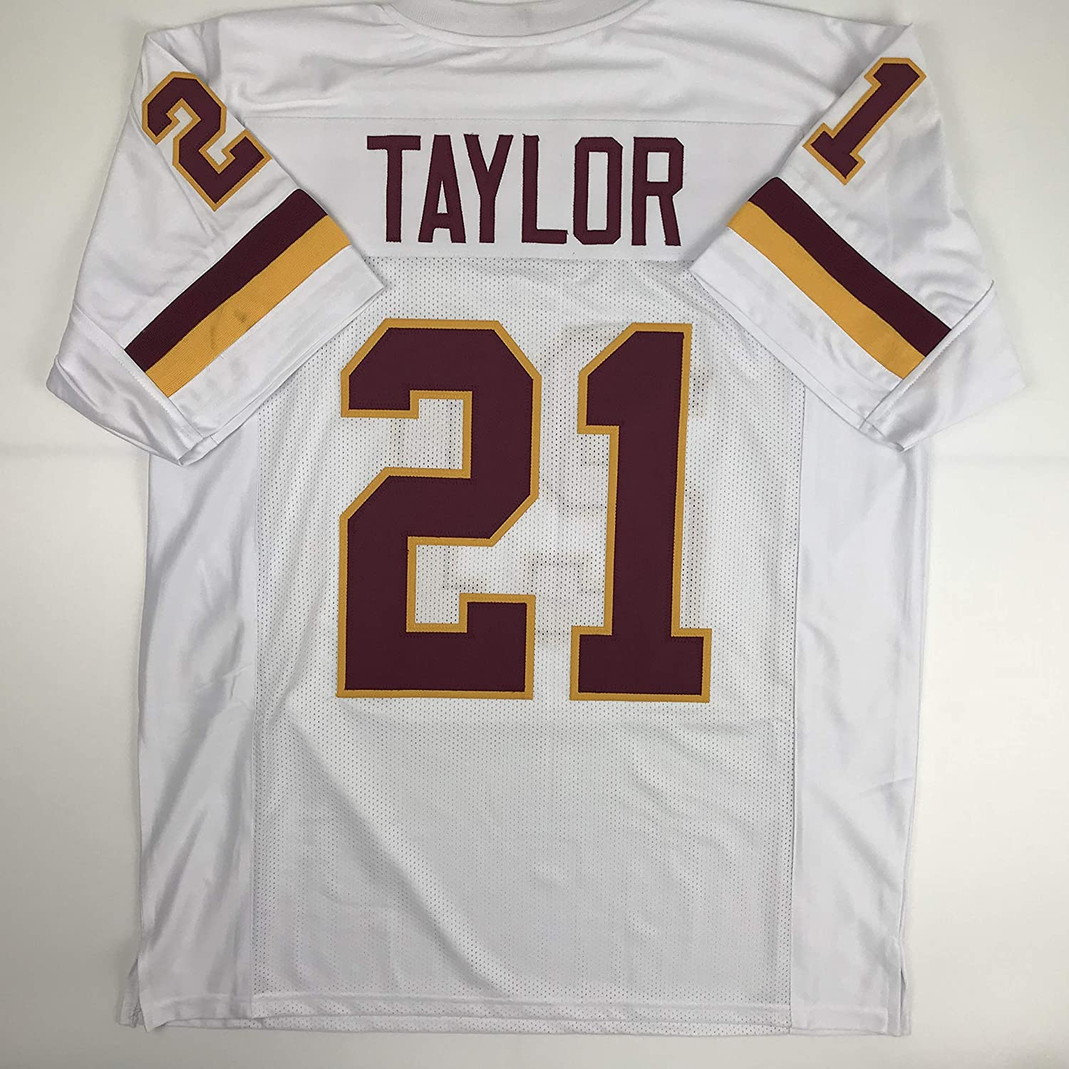 Amazon.com  Unsigned Sean Taylor Washington White Custom Stitched Football  Jersey Size Men s XL New No Brands Logos  Sports Collectibles 1d3514e89