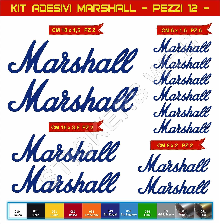 Cod 0573 Motorrad Aufkleber stickers MARSHALL