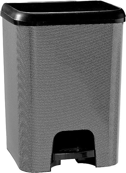 TODO HOGAR - Cubo de Basura de Apertura con Pedal (26 litros ...