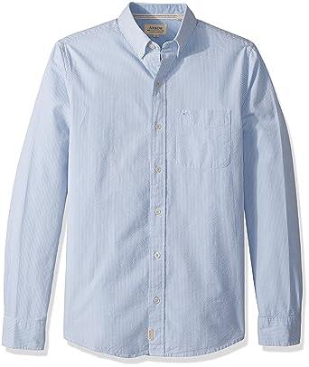 Arrow Men s American Heritage Slim Long Sleeve Seersucker Shirt ... 7ad63d3cf