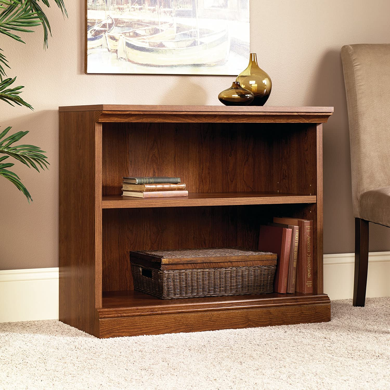 Amazon.com: Sauder Camden County 2-Shelf Bookcase, Planked Cherry: Kitchen  & Dining - Amazon.com: Sauder Camden County 2-Shelf Bookcase, Planked Cherry