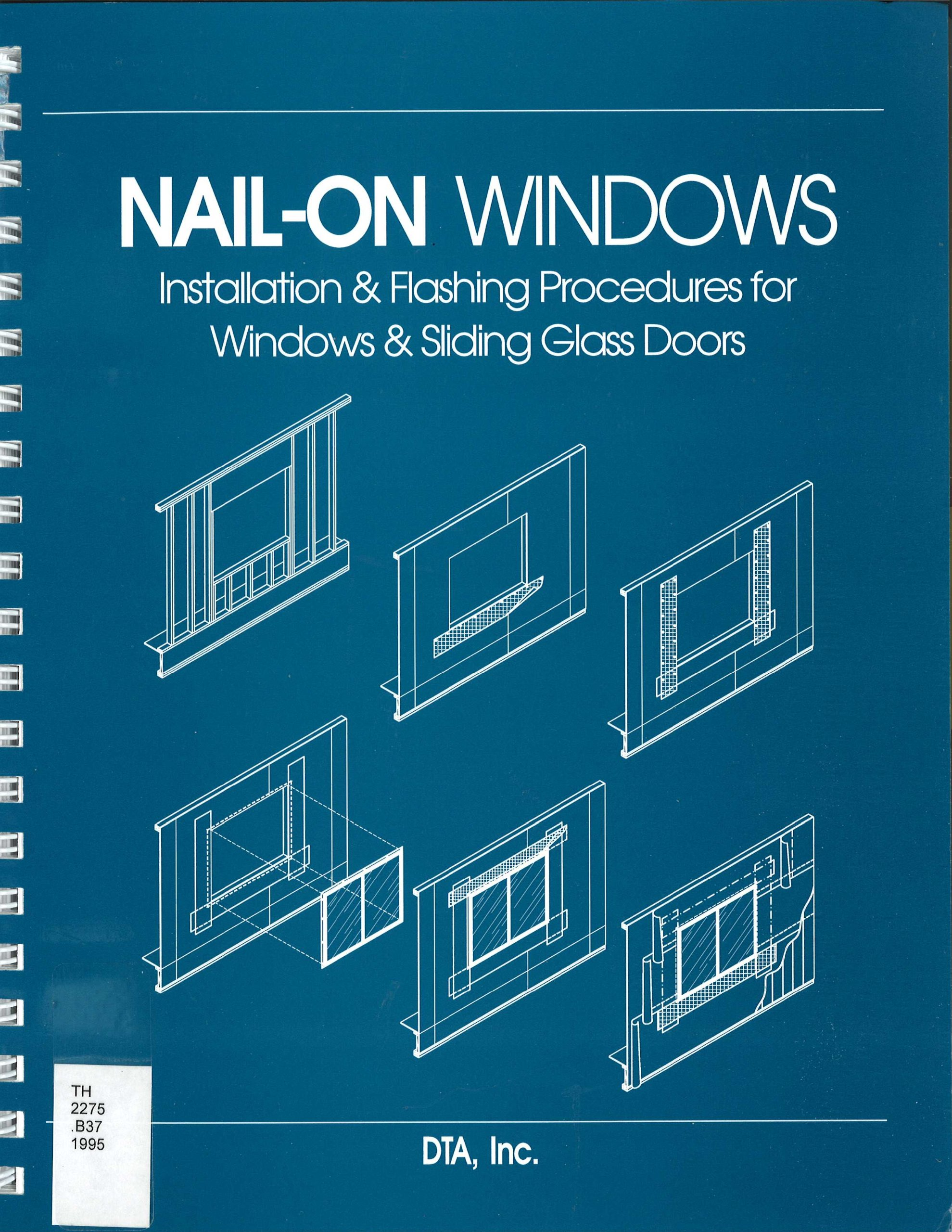 Nail On Windows Installation Flashing Procedures For Windows