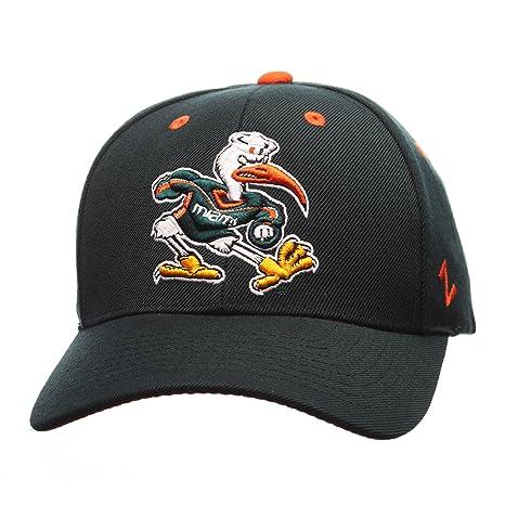 reputable site 79dc5 f8b1f NCAA Miami Hurricanes Men s Competitor Hat, Adjustable, Green