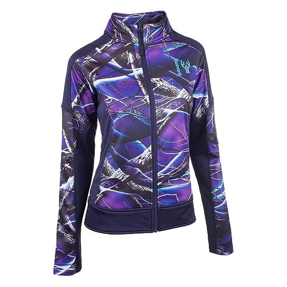 Huntworth Womens Jacket Snow//Evening Blue